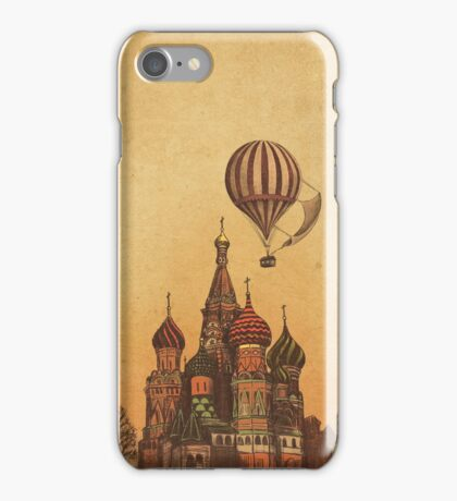 Moving to Moscow  iPhone Case/Skin