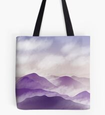 The Mountain Mists  Tote Bag