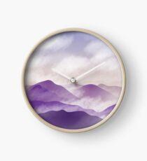 The Mountain Mists  Clock