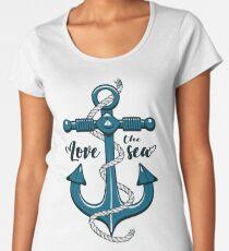 Love the Sea Women's Premium T-Shirt