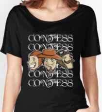 CONFESS! Women's Relaxed Fit T-Shirt