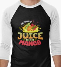 Mango Juice Men's Baseball ¾ T-Shirt