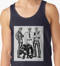 Four Leather Men  Tank Top
