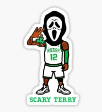 scary terry costume Sticker
