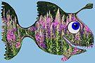 Flower Fish by Juhan Rodrik