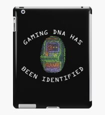 Gaming DNA Retro Funny Geeky  iPad Case/Skin