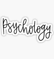 Psychology Folder/Binder sticker Sticker