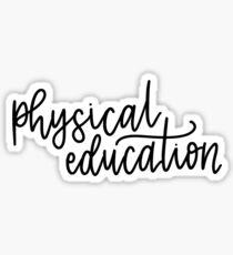 Physical Education Folder/Binder sticker Sticker