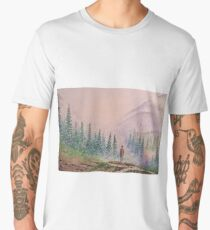 Among the misty mountains Men's Premium T-Shirt