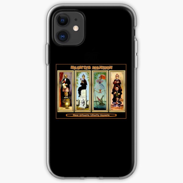 HAUNTED MANSION : Vintage New Orleans Liberty Square Prints. iPhone Soft Case
