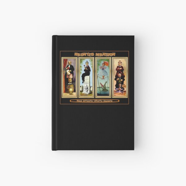 HAUNTED MANSION : Vintage New Orleans Liberty Square Prints. Hardcover Journal