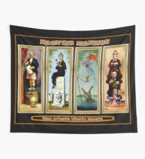 HAUNTED MANSION : Vintage New Orleans Liberty Square Prints. Wall Tapestry