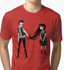 Please Don't Leave Me... Tri-blend T-Shirt