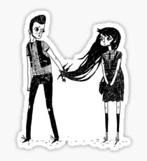Please Don't Leave Me... Sticker