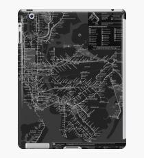 New York metro iPad Case/Skin