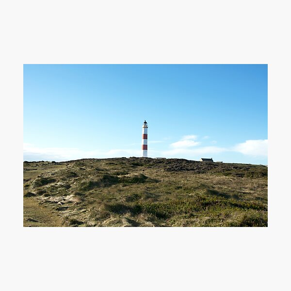 Lighthouse at Tarbet Ness Photographic Print