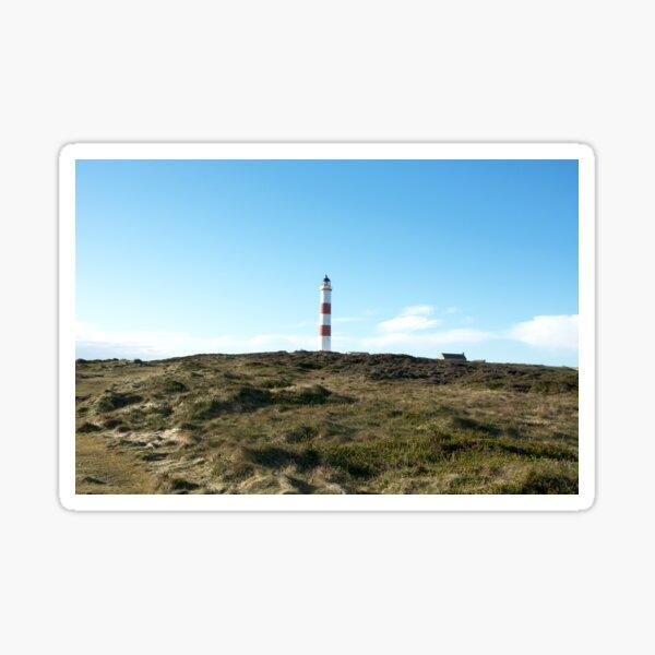 Lighthouse at Tarbet Ness Sticker
