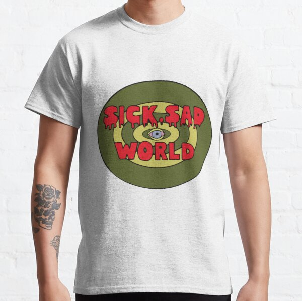 daria, sick sad world t shirt T-shirt classique