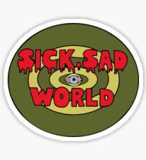 daria sick sad world t shirt Sticker