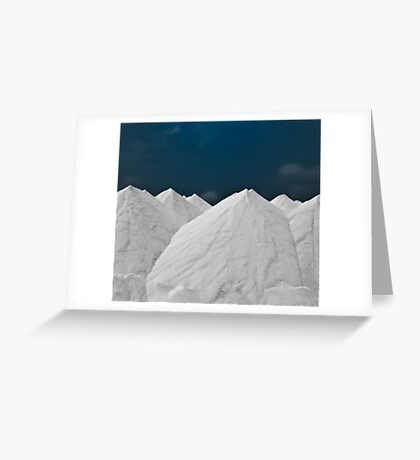 """Oh, To Live On Sugar Mountain"" Greeting Card"