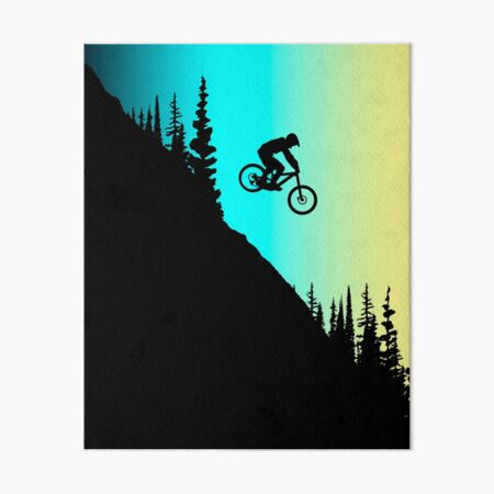 MTB Farben Galeriedruck
