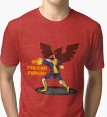 Nintendo - Falcon Punch! Tri-blend T-Shirt