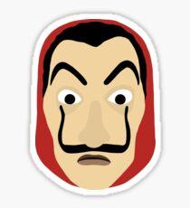 Money Heist mask Sticker