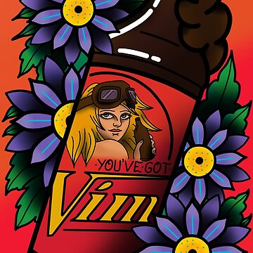 You've Got Vim! by QuantumTattoo