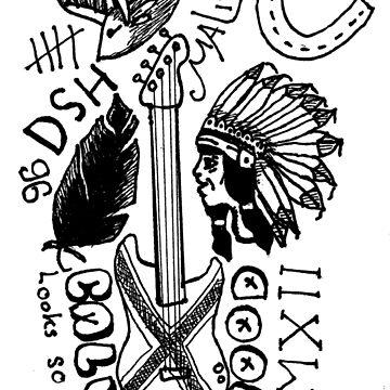 calum tattoos by JustStephanie