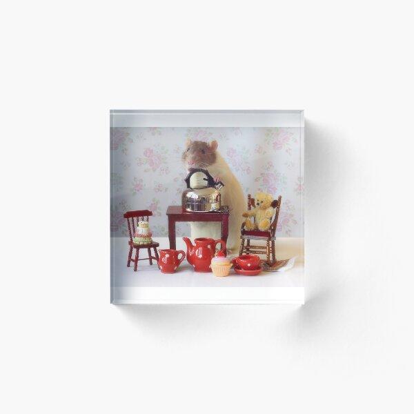 Home Sweet Home Acrylic Block