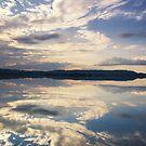 Winter Reflections on Lake Kochel by Kasia-D