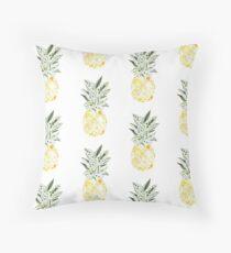Small pineapple colorful mandala Floor Pillow