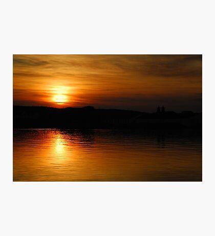 Islay: Port Ellen Sunset Photographic Print
