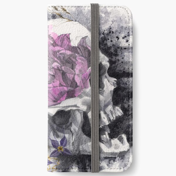 Headspace | Skull and Flowers iPhone Wallet