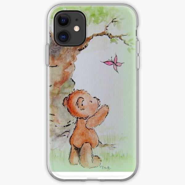 Butterfly Bear iPhone Soft Case