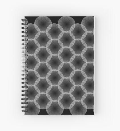 Pi spiral 002 Spiral Notebook