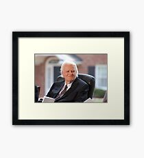 Reverend Billy Graham Framed Print