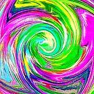 Abstract vortex by blackhalt