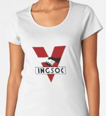 INGSOC Women's Premium T-Shirt