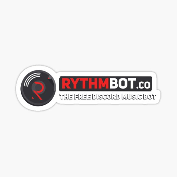 Rythm Banner Sticker