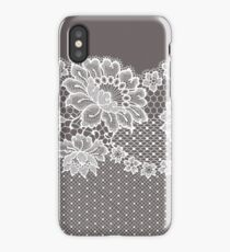Lace ribbon. iPhone Case/Skin