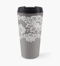 Lace ribbon. Travel Mug