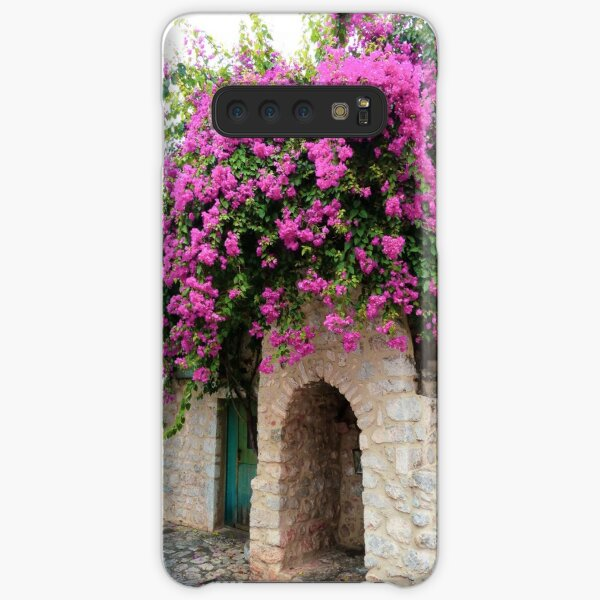 Bougainvillea in Areopoli Samsung Galaxy Snap Case