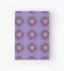 Purple Dot Mandala - Art&Deco By Natasha Hardcover Journal