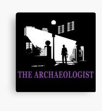 The Archaeologist Canvas Print