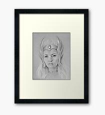 She-Ra! Framed Print