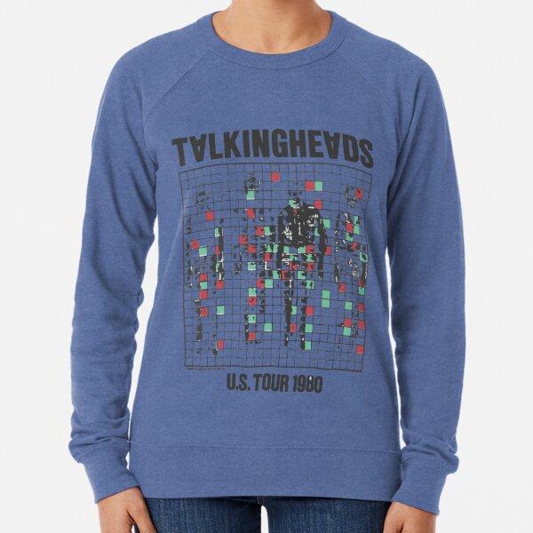 talking heads inspired tour tee Lightweight Sweatshirt