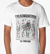 talking heads inspired tour tee Long T-Shirt