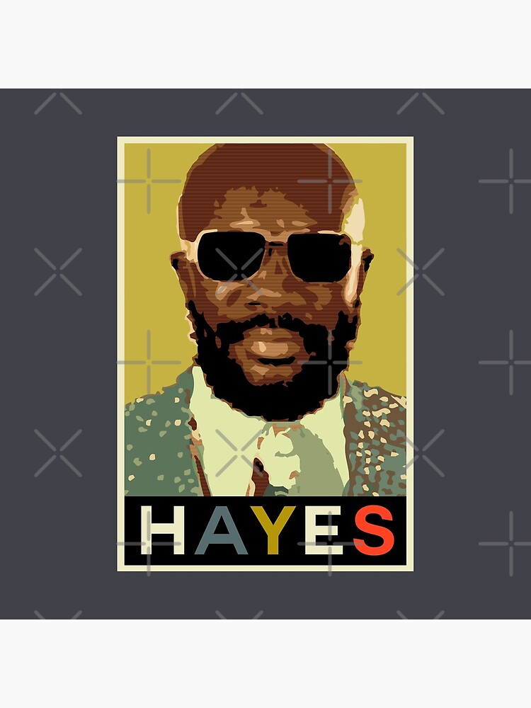 Isaac Hayes by SUCHDESIGN