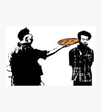 Pizza for one? Photographic Print